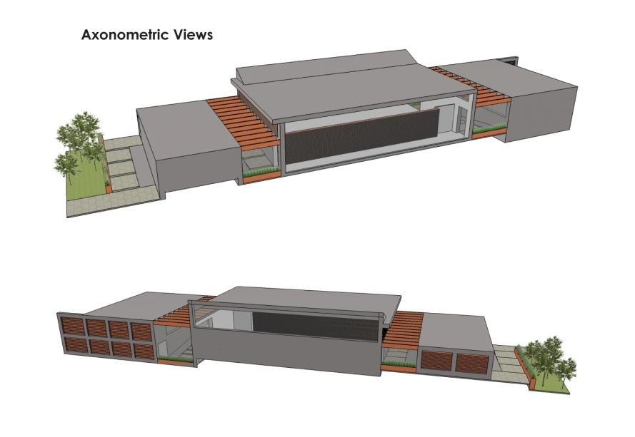 Axonometric Views